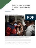 Niñas Viladas en Guatemala