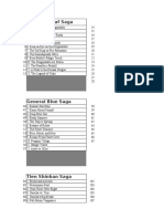 DBZ Ep Lists