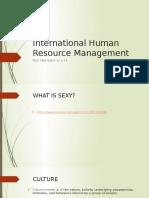 DAY TWO International Human Resource Management