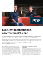 Excellent Maintenance, Carefree Health Care