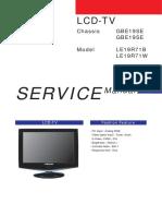 Samsung LE-19R71B User Manual