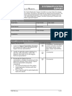 71102412 Application Support Model Template