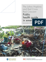 The Johns Hopkins and Red Cross Red Crescent Public Health Guide in Emergencies 2nd Ed 2008 Whole