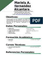 Mariely a. Hernandez Alcantara