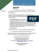 Informe de Fmi - Paraguay