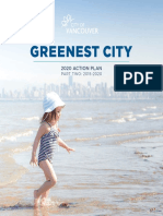 Greenest City 2020 Action Plan 2015 2020