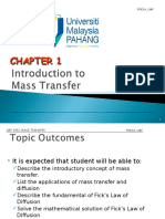 1. Chapter 1 Introduction Fick s Law 2