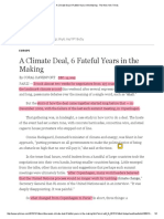 A Climate Deal, 6 Fateful Years in the Making - The New York Times