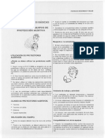 Proteccion Auditiva Ficha de Seguridad