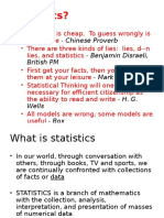 Statistics Introduction
