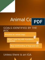 Animal Control Laws