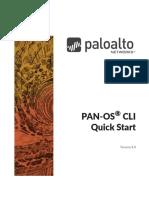 PAN-OS® 8.0 CLI Quick Start