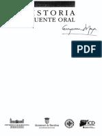 LOS NUEVOS CAMINOS DE LA HISTORIA ORAL EN AMÉRICA LATINA* de Eugenia Meyer