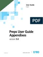 Preps 5-0 User Guide Appendices