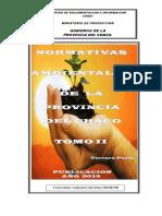 Normativa Ambientales de La Provincia Del Chaco