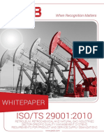 Difference Between ISO9001 ISO29001