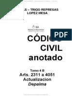 SALAS - TRIGO REPRESAS - LOPEZ MESA - Codigo Civil Comentado T4B - (arts. 2311 - 4051).pdf