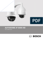 AUTODOME IP 5000 HD Installation Manual EsES 20061782411