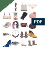 ropa de interior + accesorios