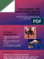 Challenges Speaking