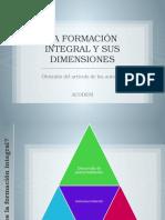 1.3.2 La Formación Integral y Sus Dimensiones