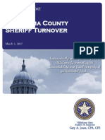 OCSO Inventory Turnover Audit