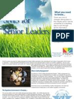 SMS for Senior Leaders