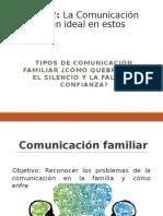 3 Tipos de Comunicación en La Familia