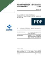 Norma Técnica Colombiana NTC-IsO-IEC 17043-2010