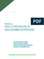 Manual Soluciones Nutritivas
