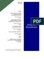"""Rubio Campos, Jesús (2000). """"Causas y efectos del sector informal"""". Entorno Económico. Centro de Investigaciones Económicas. Facultad de Economía. UANL. Enero-Febrero 2000. Vol. XXXVIII. Número 224."""