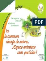 Modèle de panonceau proposé par le CPIE aux communes