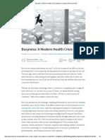 Busyness_ A Modern Health Crisis _ Benjamin Cardullo _ Pulse _ LinkedIn.pdf