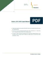 Callan 2017 Capital Market Projections