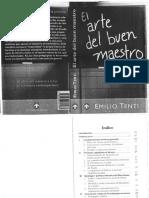 2.-Tenti El Arte Del Buen Maestro Lectura El Oficio Del Mtro Contradicciones (1)