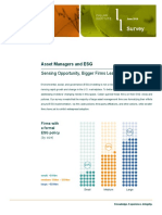 Asset Managers and ESG