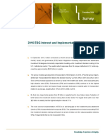 ESG Survey 2016
