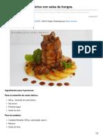 bavette.es-Solomillo de cerdo ibérico con salsa de hongos