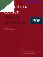 M. Heidegger- La Historia Del Ser (1938-1940)
