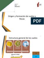 Clase1 - Capítulo II Origen y Formacion de Suelos y Rocas - ParteA