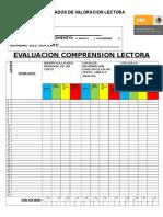 Formato Evaluacion Comprension Lectora 3 y 4
