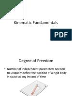 Kinamatic Fundamentals