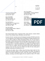 Response from NYC Economic Development Corporation & NYC Department of City Planning re
