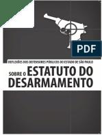 Estatuto Desarmamento DPE-SP