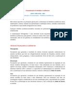 NBR 14724 - Normalizacao de Trabalhos Academicos- 2015