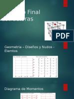 Proyecto Final Estructuras
