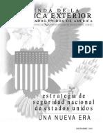 Agenda de Politica Exterior de Usa