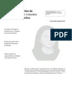 Analisis de La Gestion en Colombia