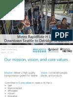 New Delridge RapidRide SDOT slide deck