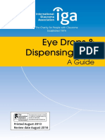 Eye Drops and Dispensing Aids
